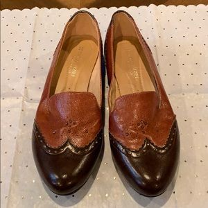 Brown Leather Naturalizer N5 Comfort Flats